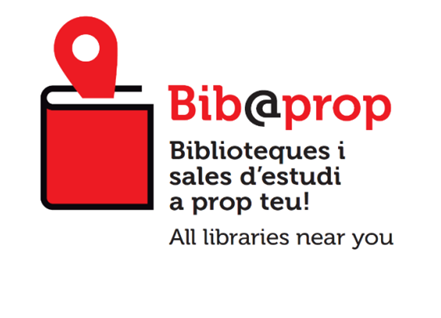 Bib@prop Biblioteques i sales d'estudi a prop teu! All libraries near you
